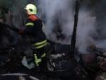 Пожежа у Володимир-Волинському районі